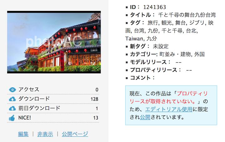 台湾の九份の写真(HDR加工済み)