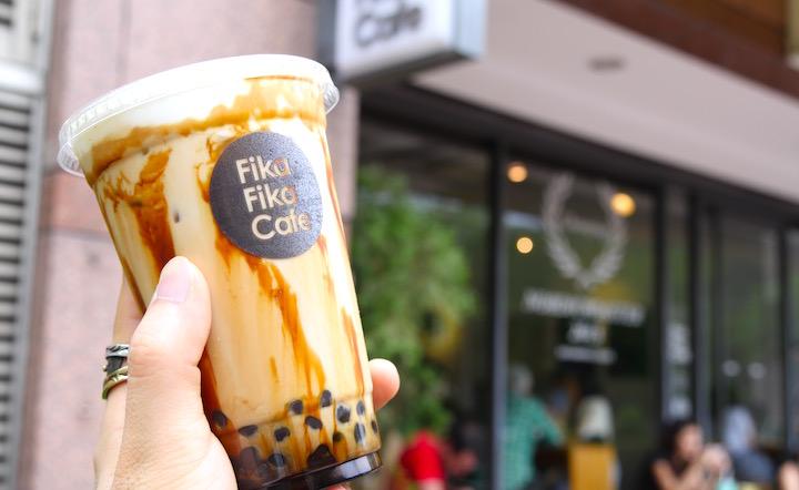 台湾のfikafikacafe