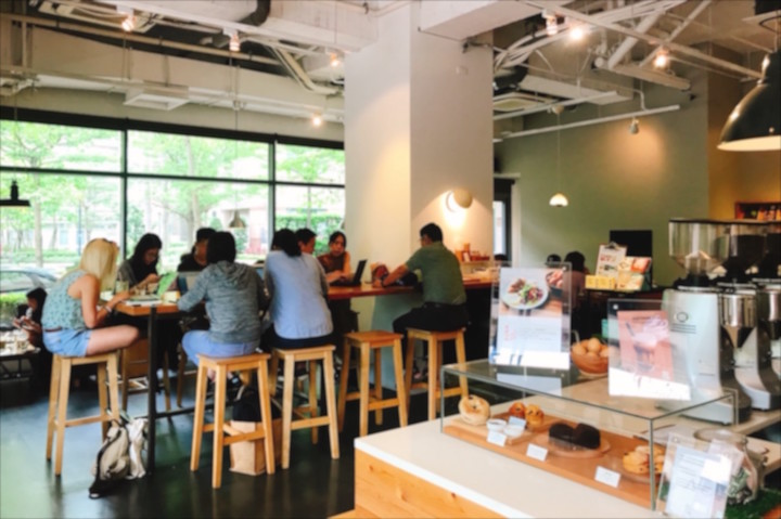 fikafikacafeの店内写真