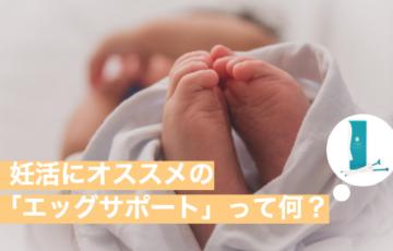 【30代向け】妊活にオススメの「エッグサポート」って何?