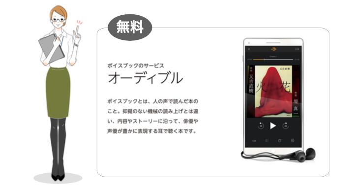 Amazonの「オーディブル」アプリって、どんな朗読アプリ?