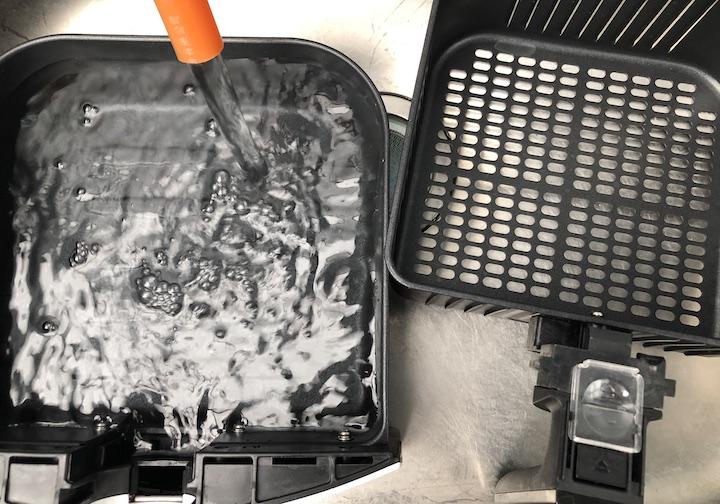 カラーラ水洗い