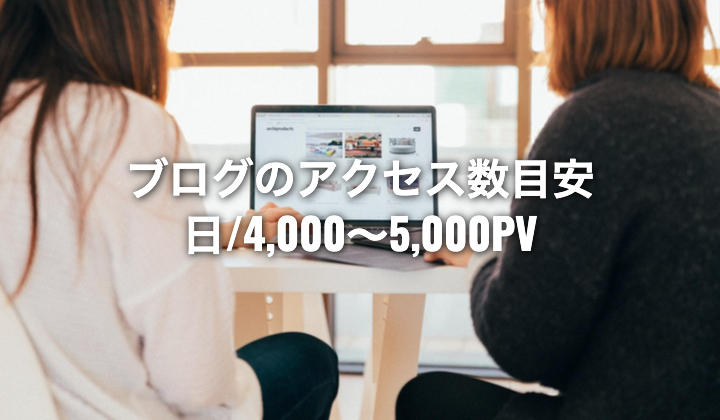 台湾やアジア圏でブログ収入で生活するには日/4,000〜5,000PVは必須。