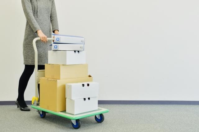 高級マンションの場合は台車で荷物を運ぶだけ!