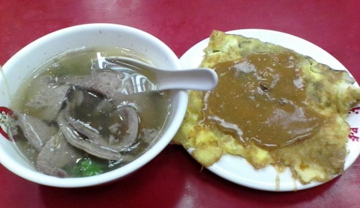 豬肝(レバー)は台湾式焼きそばやスープなんかに入ってます!